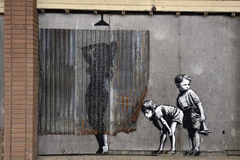 Banksy - Le Soir