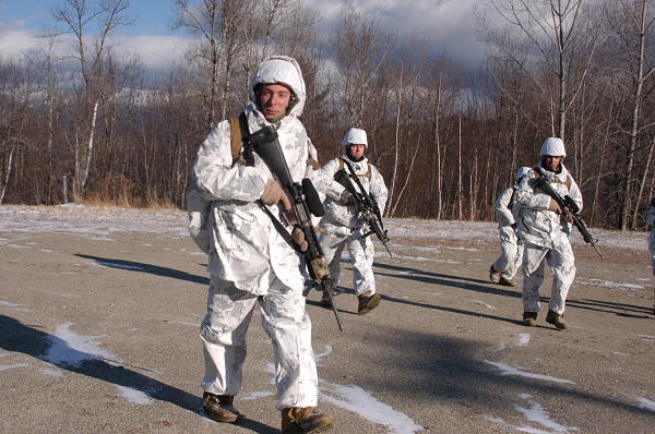 Norvege - Zone militaire