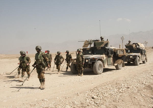 Afghanistan - zone militaire