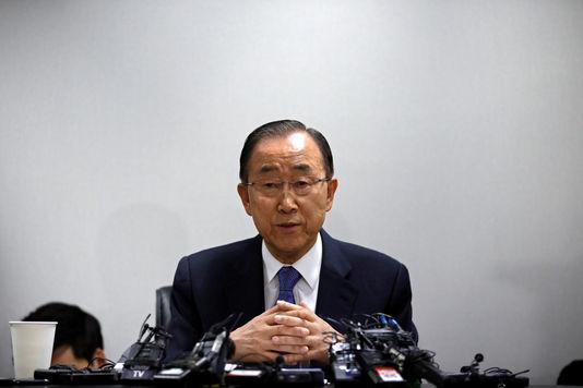Ban Ki Moon - Le Monde