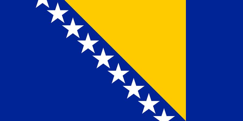 Bosnia Erzegovine 1a flag LLLL