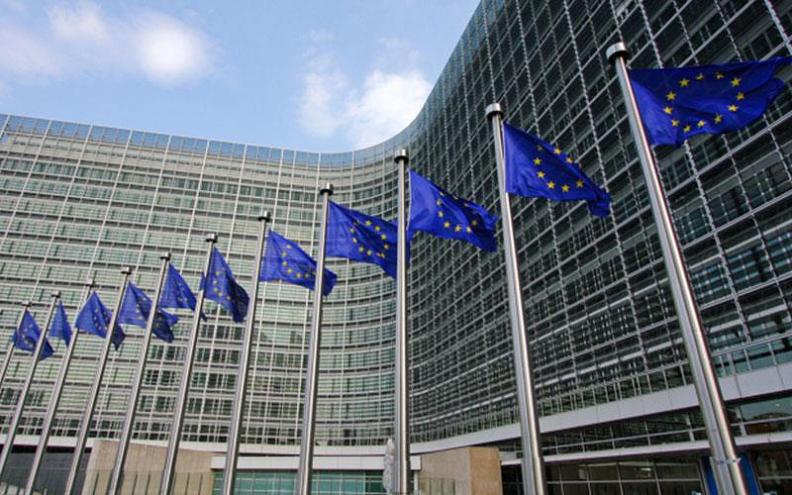 EU flags & building 2b LLLL