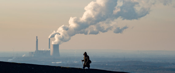 OBERHAUSEN, GERMANY - JANUARY 06: Steam and exhaust rise from the power plant of STEAG on a cold winter day on January 6, 2017 in Oberhausen, Germany. According to a report released by the European Copernicus Climate Change Service, 2016 is likely to have been the hottest year since global temperatures were recorded in the 19th century. According to the report the average global surface temperature was 14.8 degrees Celsius, which is 1.3 degrees higher than estimates for before the Industrial Revolution. Greenhouse gases are among the chief causes of global warming and climates change. (Photo by Lukas Schulze/Getty Images)