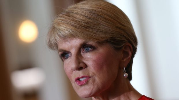 Julie Bishop 4d by Andrew Meares LLLL