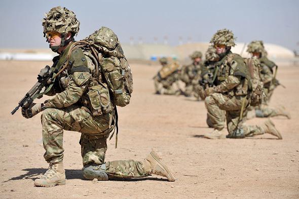 Londres - Zone militaire