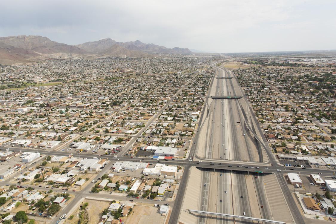 Juarez Mexico and El Paso Texas