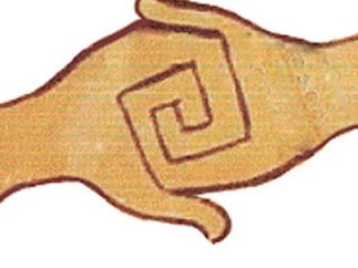 Swastika handshake etc 3c L