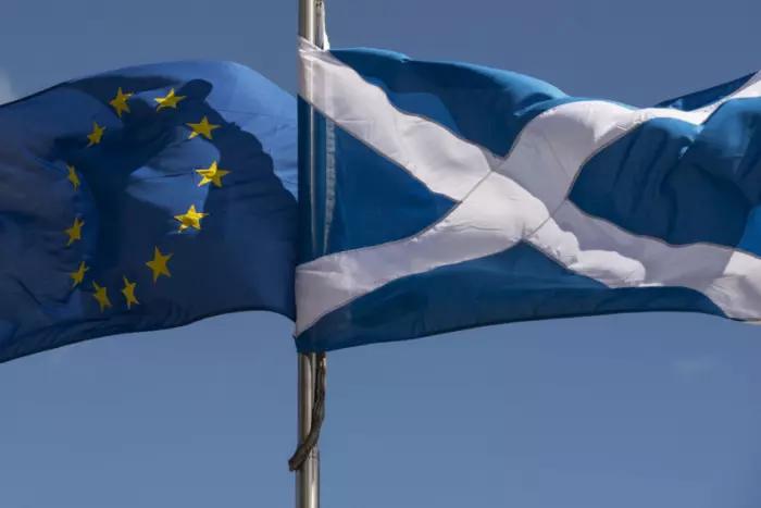 EU & Scots flags 1a Getty Images