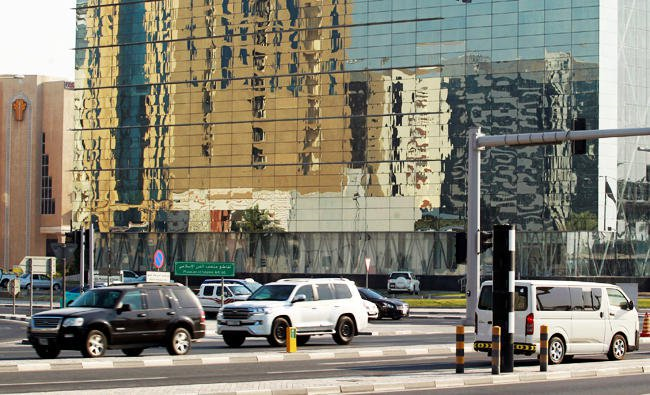 Cars in Doha 1a Reuters