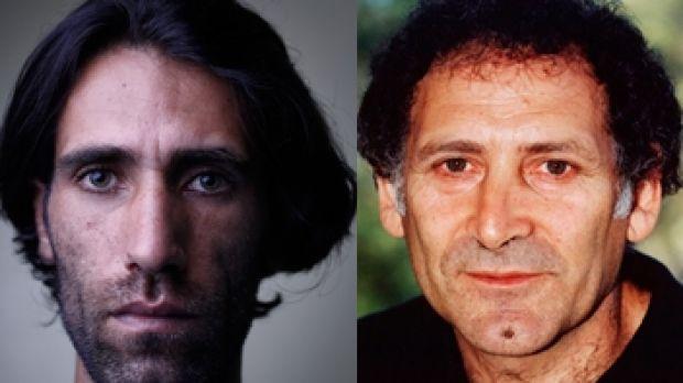 Behrouz Boochani & Arnold Zable 1a By Alex Ellinghausen LLLL