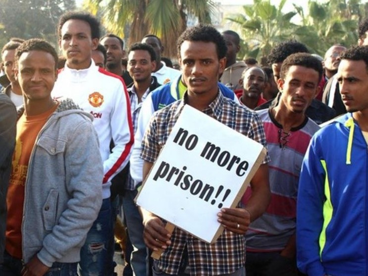 NoMorePrison 1a African migrants LLL