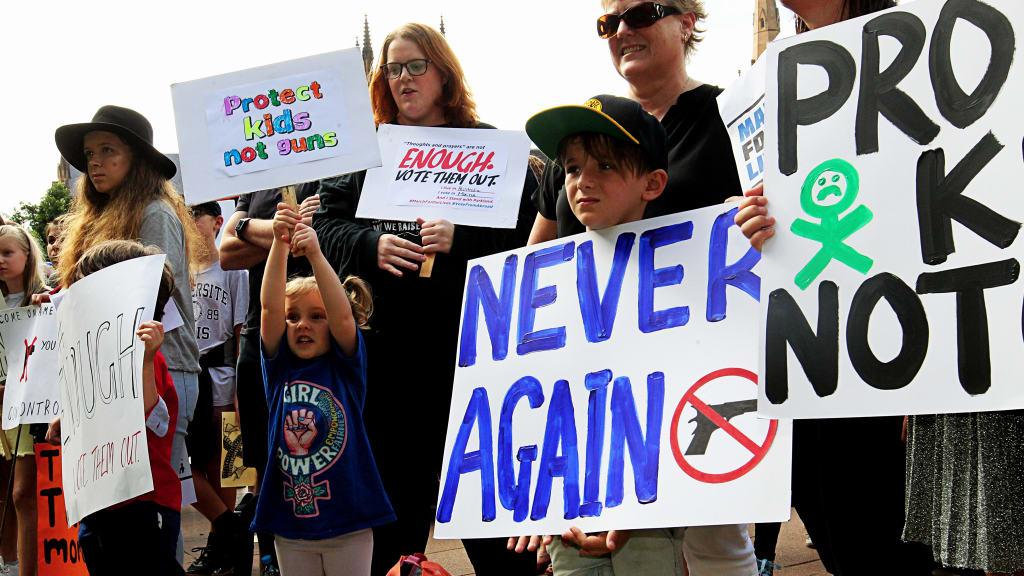 NeverAgain 1a AAP photo
