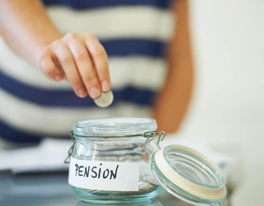 Pension money jar 1a LLLL Getty Images LLLL