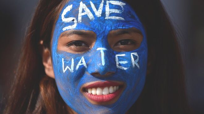 Save Water 1a Getty Images 1a painted face LLLL