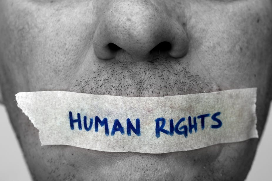 Human Rights 2b Speak up for them by Shutterstock