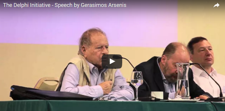 Photo of The Delphi Initiative – Speech by Gerasimos Arsenis