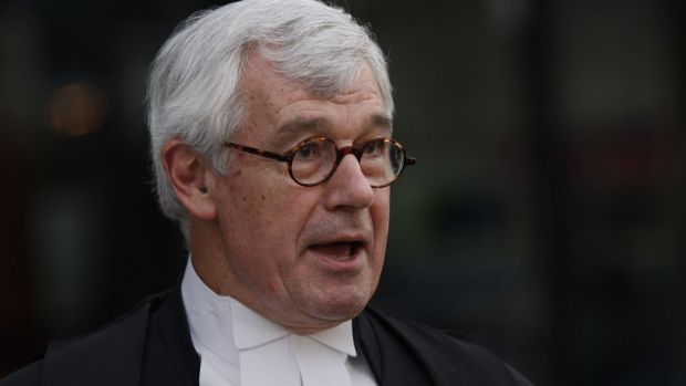 Photo of Amber Harrison's barrister Julian Burnside rebuked in dispute with Channel Seven