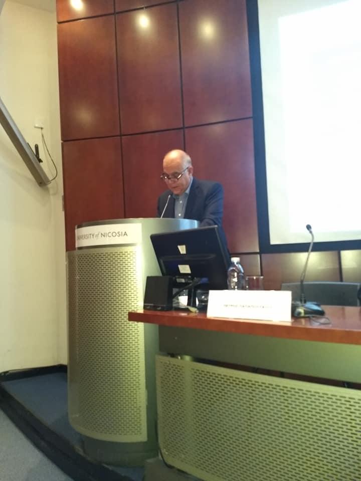 Photo of Χαιρετισμός Καθηγητή Ανδρέα Θεοφάνους στην παρουσίαση του βιβλίου: Ο κυπριακός κοινωνικός μετασχηματισμός