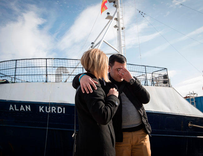 Photo of German migrant rescue ship renamed after tragic toddler