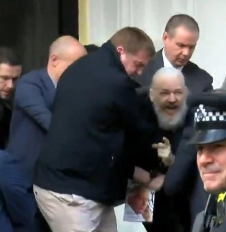 Photo of 'A dangerous precedent': Julian Assange's lawyer hits out at his arrest