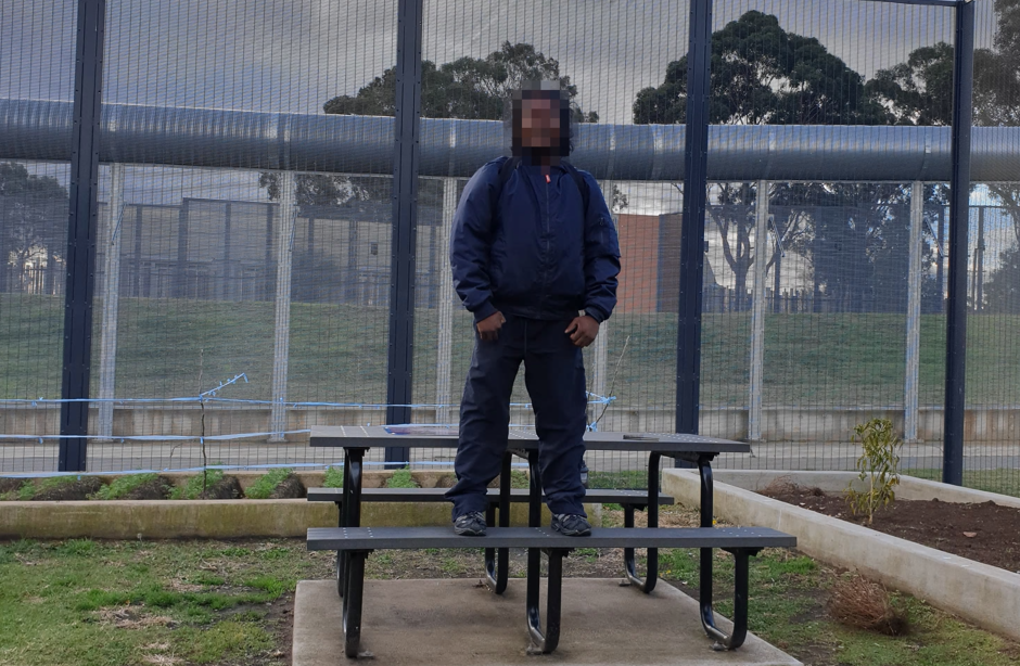 Photo of A blind refugee has been held in Australian detention for nine years