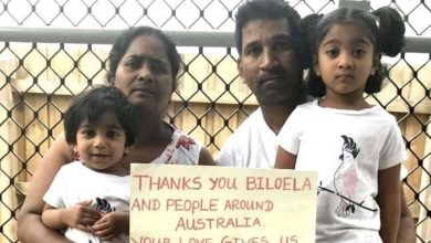 Photo of Tamil family's plight involves a complex moral balance