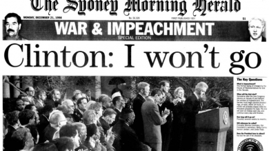 Photo of From the Archives 1998: The Herald on Bill Clinton's impeachment