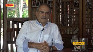Photo of With Senior Diplomat José Ramos Horta
