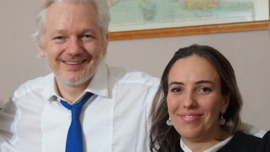 Photo of Fiancee of Julian Assange pleads for the WikiLeaks founder to be released from prison
