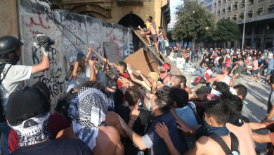 Photo of Lebanese protesters storm ministry buildings as anger over Beirut blast grows