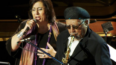 Photo of Charles Lloyd: Sharing a gift with a Greek goddess