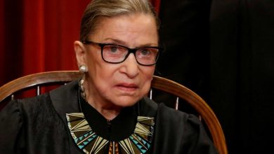 Photo of Ruth Bader Ginsburg, US Supreme Court Justice, dies aged 87