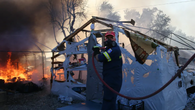 Photo of Fire destroys Moria refugee camp: another tragic wake-up call for the EU's asylum policy