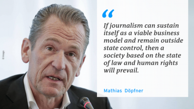 Photo of Opinion: Independent journalism is a pillar of open society