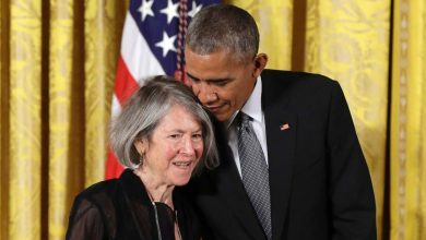Photo of Nobel Prize in Literature won by American poet Louise Gluck