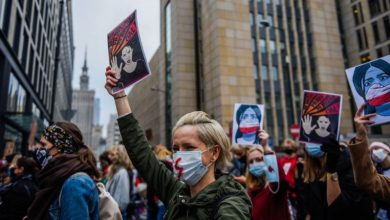 Photo of Poland abortion ruling sparks 'women's strike'