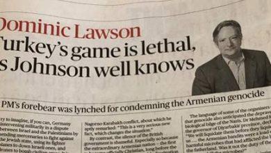 Photo of «Το παιχνίδι της Τουρκίας είναι θανατηφόρο και ο Johnson το γνωρίζει πολύ καλά»