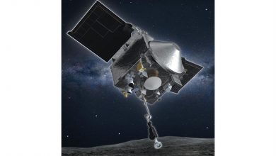 Photo of NASA works to head off losing too much Osiris-Rex asteroid dust