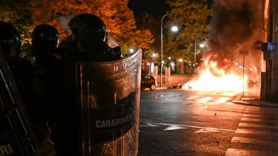 Photo of Global coronavirus report: Italian police use tear gas to disperse anti-lockdown rally