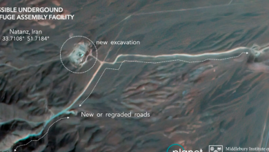 Photo of Satellite photos show construction at Iran nuclear site