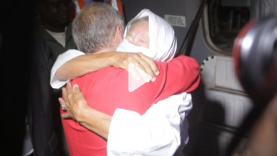 Photo of French hostage Sophie Pétronin released in Mali after 1,381 days in captivity
