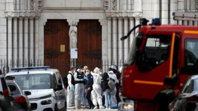 Photo of Three dead in Nice after knife attack at Notre Dame church, France raises security alert to highest level