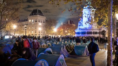 Photo of Paris Police Continue To Harass Homeless Migrants