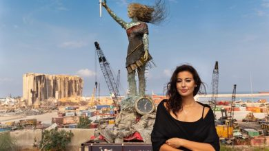 Photo of Hayat Nazer – The Lebanese artist creating art of love in times of conflict