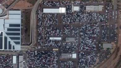 Photo of The biggest events from 2020, before and after, as seen by satellites