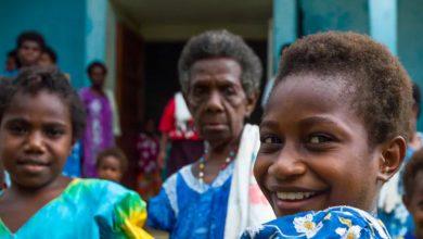 Photo of People on Vanuatu's Malekula Island speak more than 30 Indigenous languages.