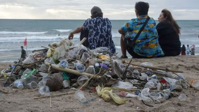Photo of 'The trash keeps coming': Bali's iconic beaches are buried in rubbish