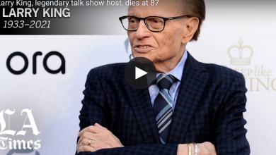Photo of Larry King, legendary talk show host, dies at 87